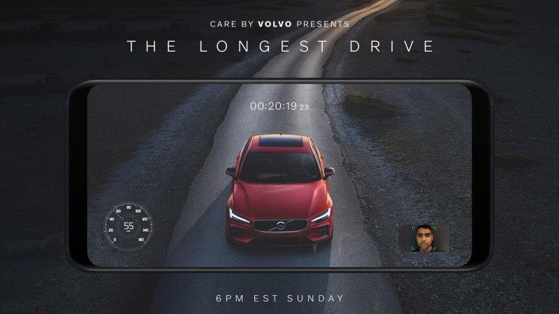Mobiiliekraani andunud vahtimise eest sai üks inimene tasuta uue Volvo S60