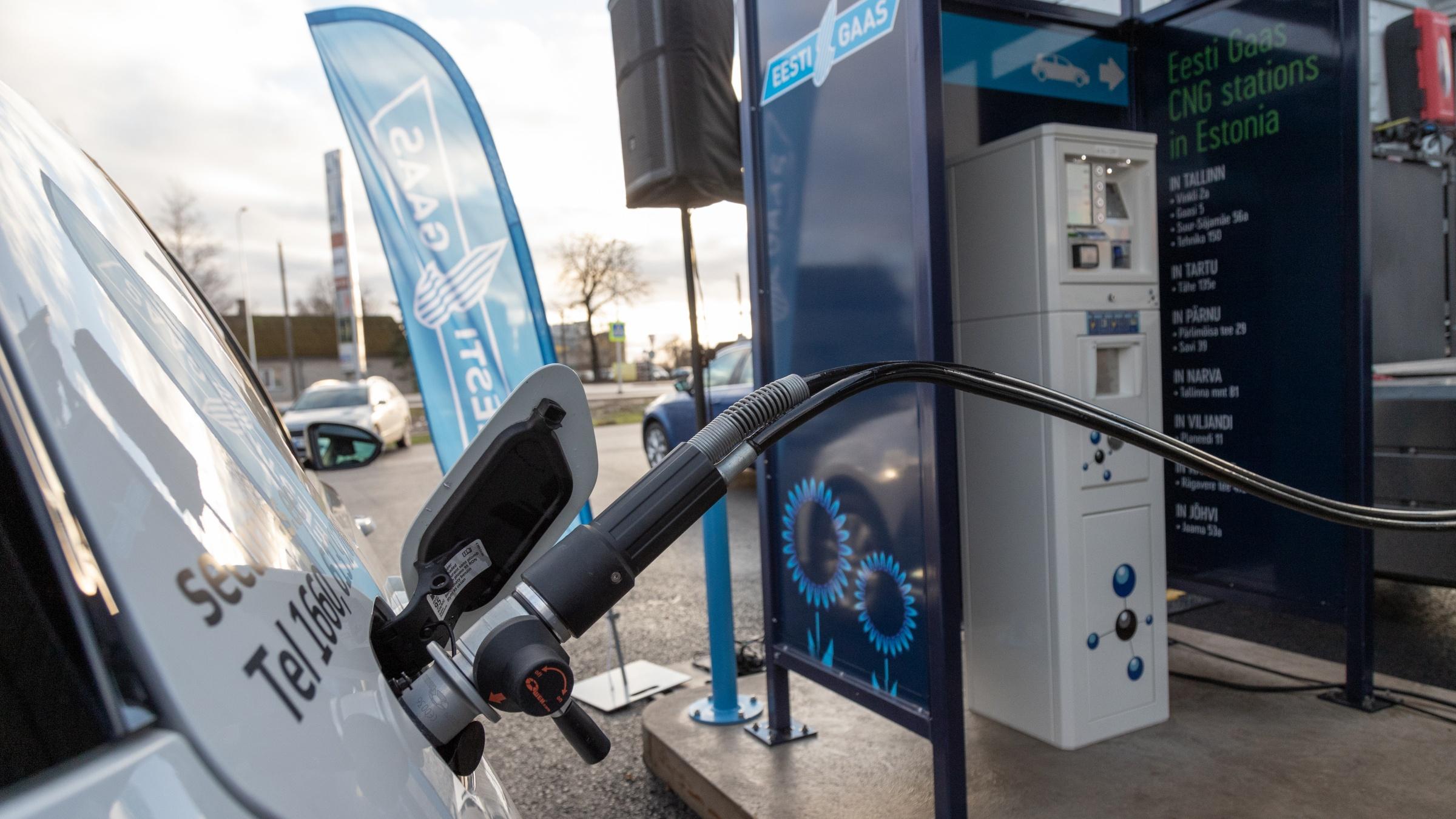 Eestis ja Euroopas on alternatiivkütustel sõitvate sõidukite müük tõusuteel