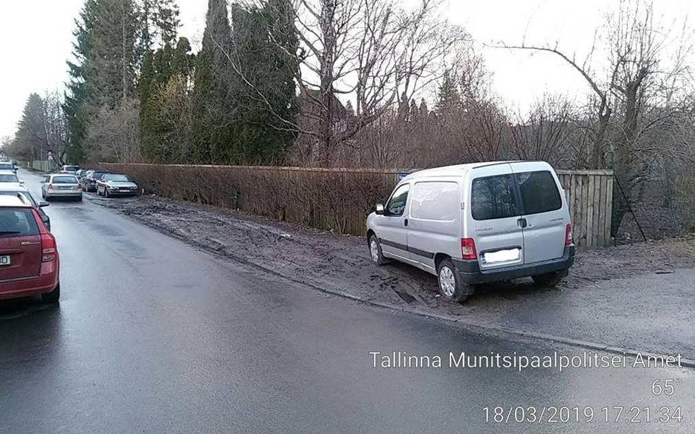 Mupo hakkab sel nädalal parkimisreeglite rikkujaid eriti põhjalikult kontrollima