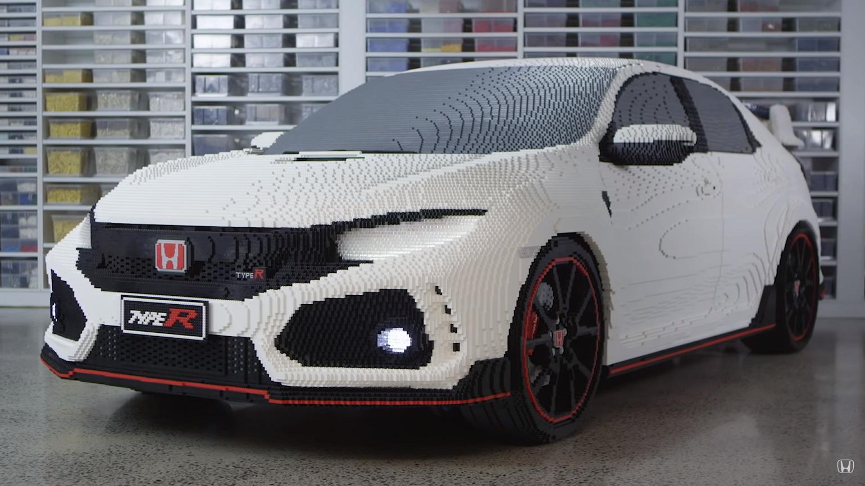 Video: Legodest valmistati elusuuruses Honda Civic Type-R