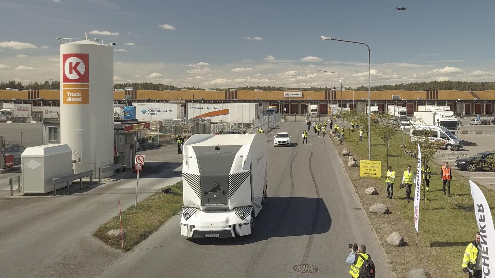 Rootsis alustas avalikul teel kaubavedu juhita elektriveok