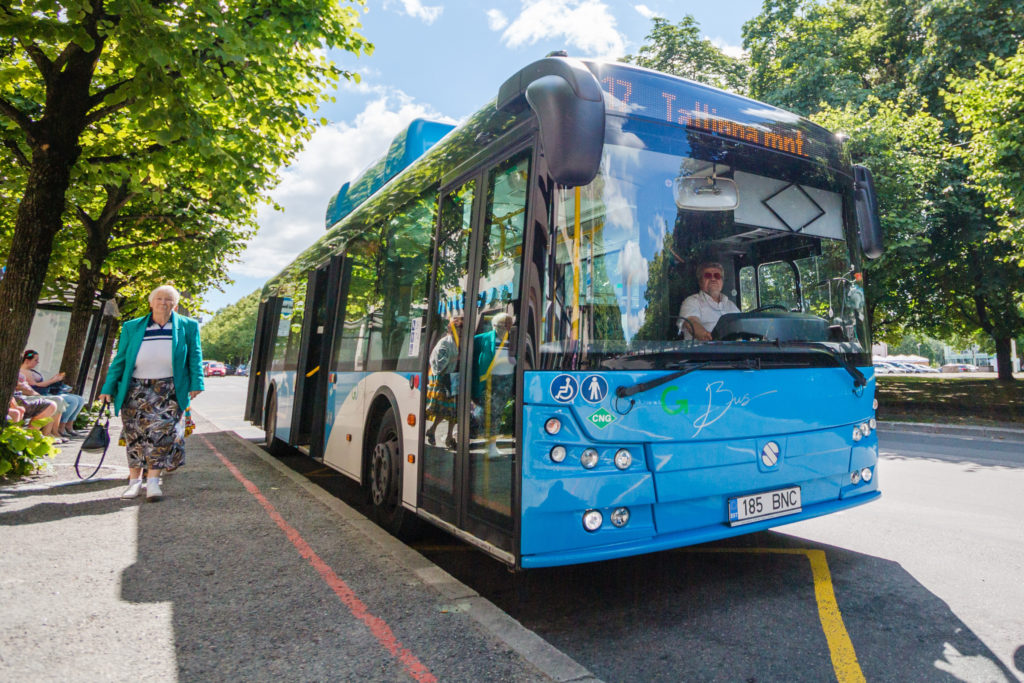 Tallinna teedel hakkavad sõitma 100 uut gaasibussi