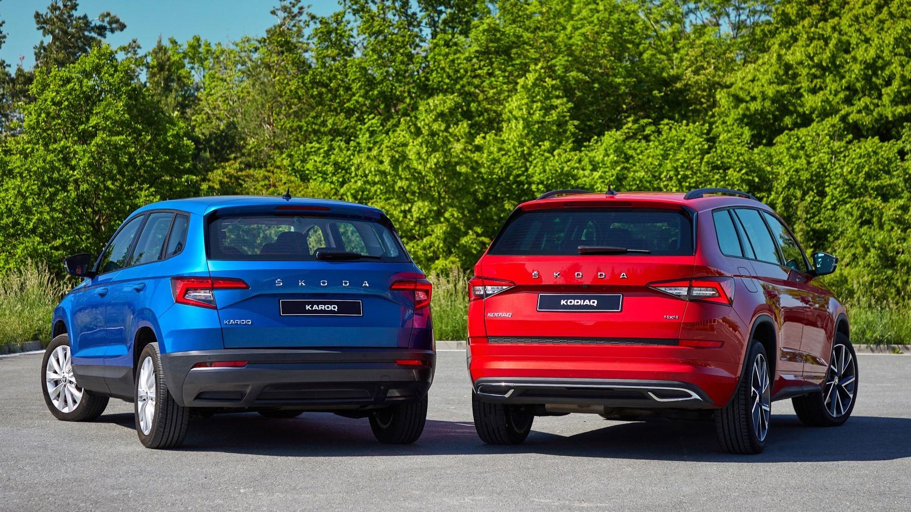 Škoda Karoq ja Kodiaq saavad facelifti raames hulga uuendusi