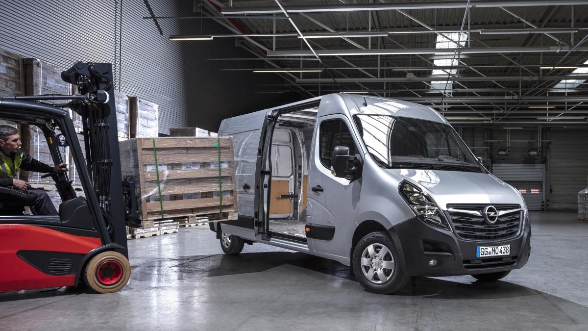 Uuel Opel Movanol on 150 erinevat versiooni