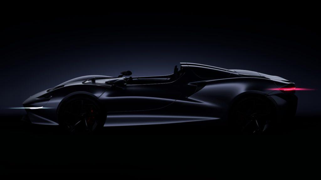 McLareni järgmine Ultimate-seeria superauto kaotab katuse