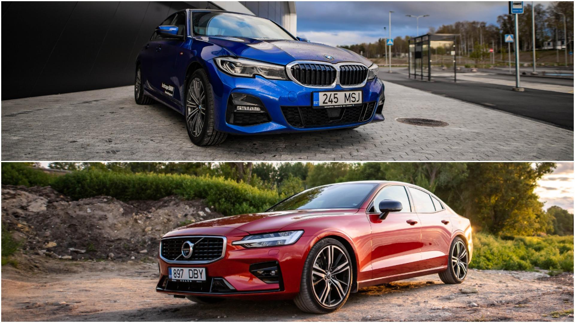 Volvo S60 või BMW 3. seeria: võiduks piisab selles testis ainult ühest asjast